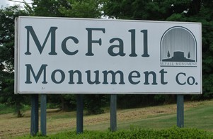 McFall Monument Co.  Galesburg, IL