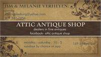 Attic Antique Shop Jim Verheyen