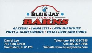 Blue Jay Barns Daniel  Lee